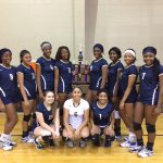 Lady Lions go 4-2 in Eustace VB Tour