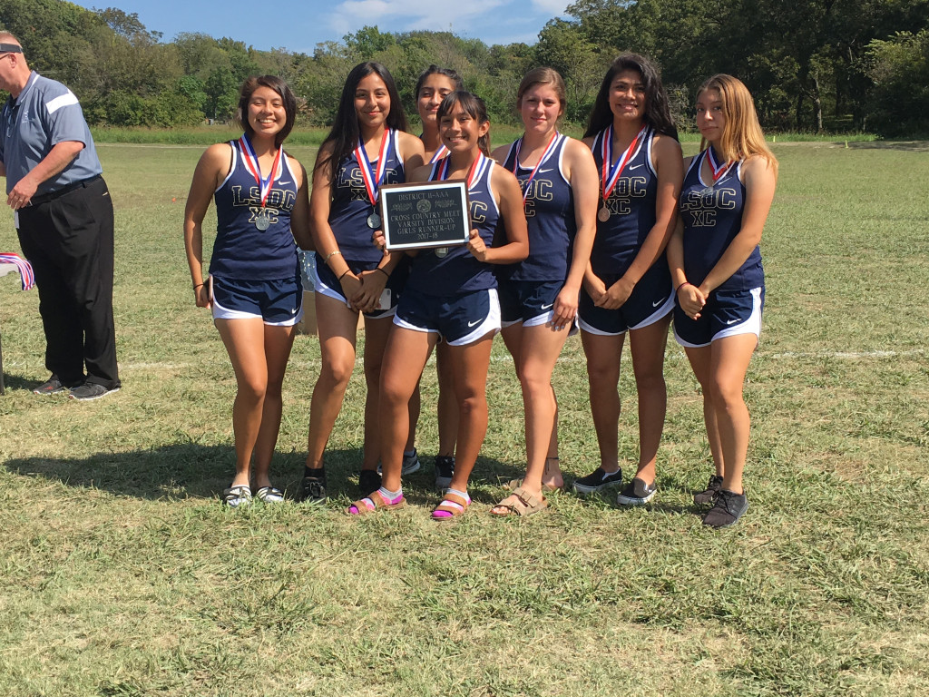 Lady Lions CC take 2nd Place at District 11-3A Meet