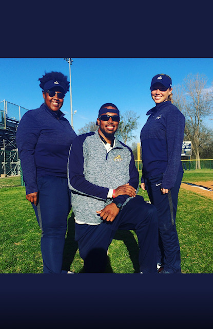 Dynamic Softball Trio