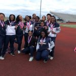 Lady Lions Track & Field – District Runner-Up