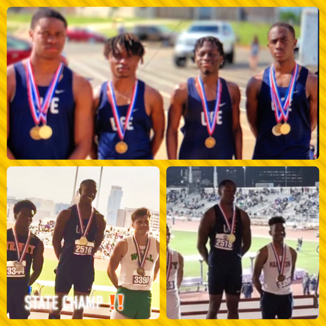 UIL Conference 3A 2019 T&F State Champions