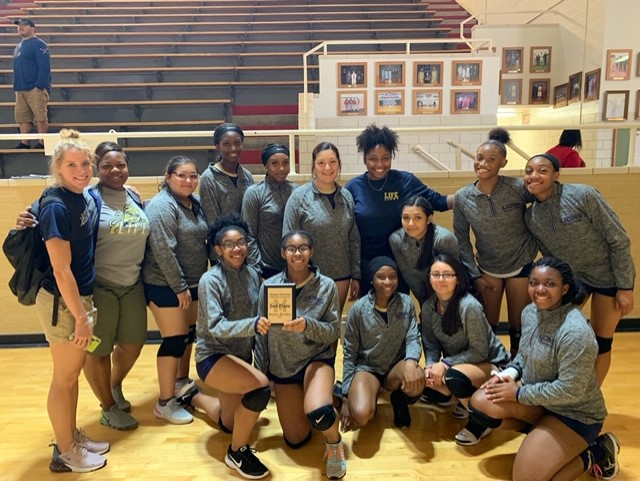 Lady Lions Volleyball Place 2nd in Bronze Division