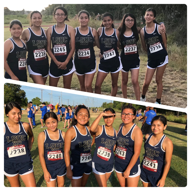 Lady Lions Cross Country