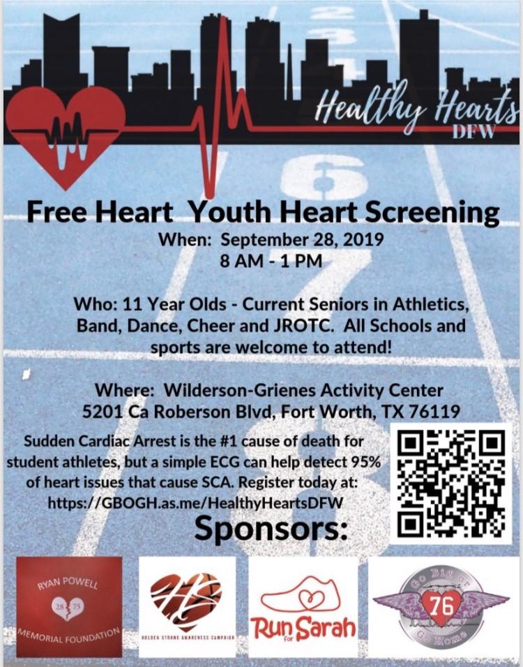 Heart Screening Information
