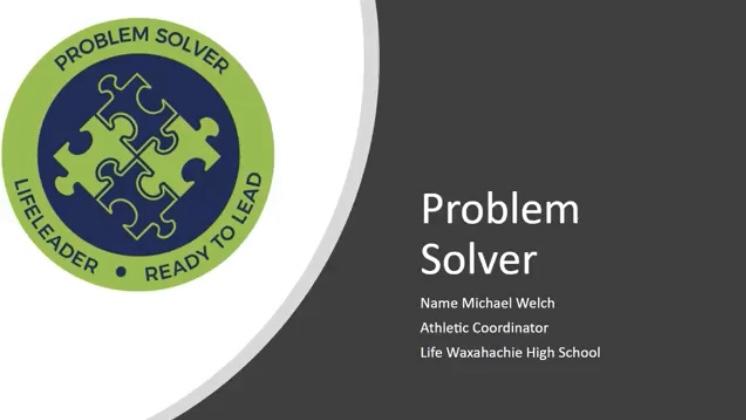 "LifeLeader – Weekly Attribute""Problem Solver"""