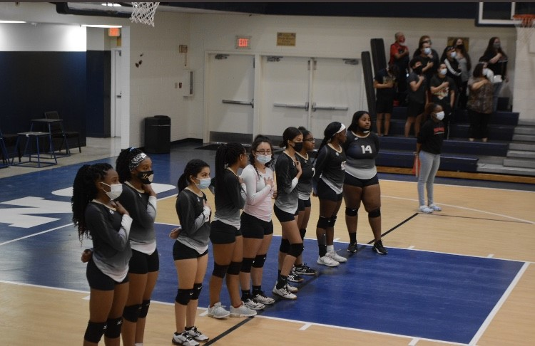 Varsity Volleyball District Play