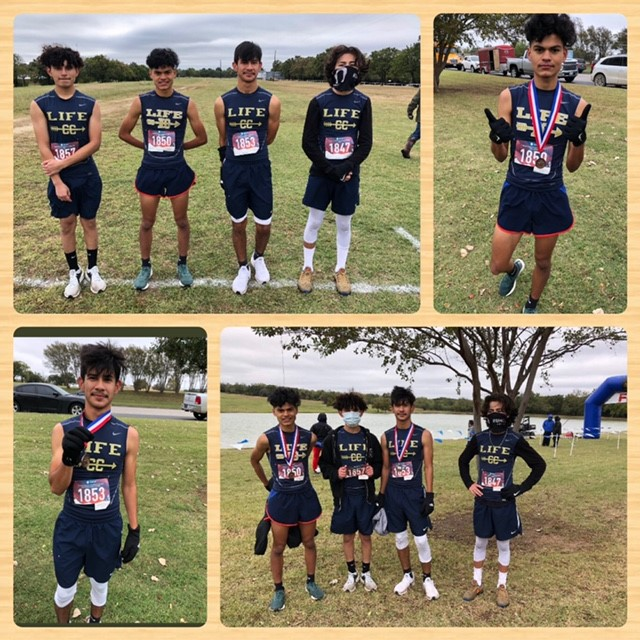 Region 2-3A Boys Cross Country Qualifiers