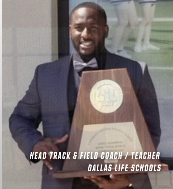 LHSOC HEAD TRACK COACH, SPOTLIGHTED BY TEXAS A&M COMMERCE