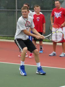 1st Week of Tennis Practice 2013