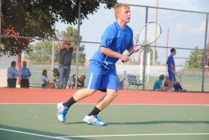 2013 Varsity Boys Tennis vs. Delphi