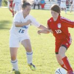Girls Soccer downs Mounties 2-0
