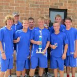 Boys Tennis Wins WEBO Invitational