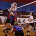 WeBo Volleyball Defeats Danville