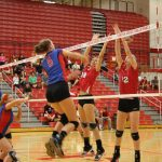 Volleyball Falls In A Hard Fought Match Against Center Grove