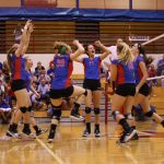 Varsity Volleyball Defeats Harrison in Five Outstanding Games