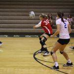 Varsity Volleyball Beats Central Catholic in Three