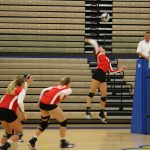 Volleyball Beats Crawfordsville in Conference Action