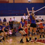 Volleyball Sweeps the Chargers