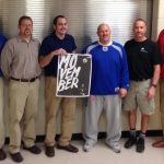 Coaches Sport 'staches for Movember