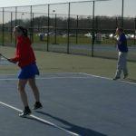 Tennis beats University