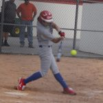 Softball sweeps North