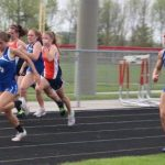 Cheer on the Track team