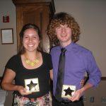 Two Stars Earn Awards