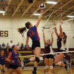 Stars Volleyball Are Handed First Loss of the Season