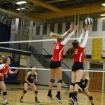 Volleyball Defeats Tri West in Four