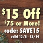 Christmas online store sale!