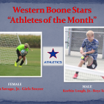 Student-Athletes of the Month- September