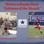 Student-Athletes of the Month- October