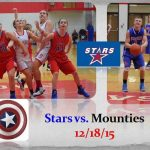 Stars vs. Mounties 12/17/15