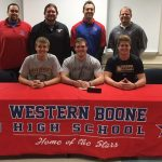 WeBo trio sign to play football at in-state schools