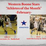 Athletes of the Month- February