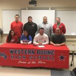 WeBo's Cavender signs with Hanover