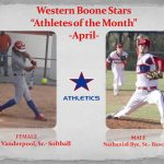 April Athlete's of the Month
