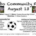 Soccer Community Fair this Saturday