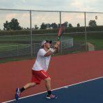 Western Boone High School Boys Varsity Tennis beat Rossville High School 4-1