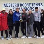 Tennis takes home title
