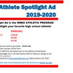 Webo Athlete Spotlight Advertisement – Spring 2019-20