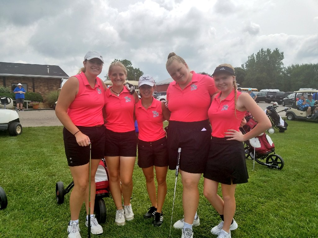Girl's Golf finishes 6th in Webo Invitational