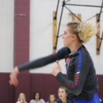 Volleyball splits with Danville
