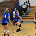 7/8th Volleyball sweeps Sparkplugs