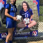 Jones nets 100th career goal as Lady Stars shut out Sheridan