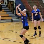 JH Volleyball sweeps Crawfordsville