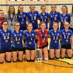 8th Volleyball crowned Conference Champions