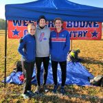 Knoper and Collier at Cross Country Semi-State