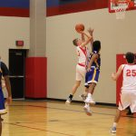 8th Boy's Basketball Sweeps Athenians