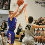 Stars hold off Mounties for first win